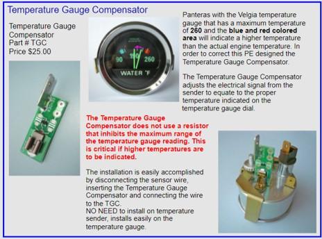 Temp Gauge Compensator