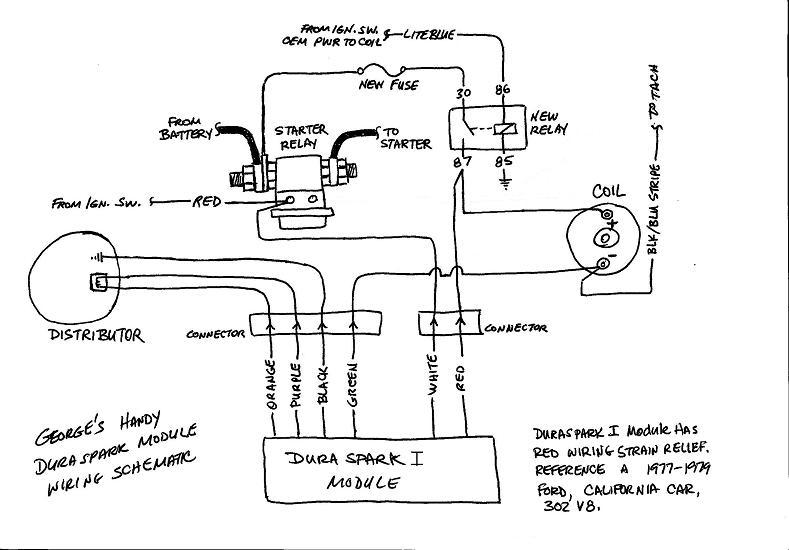 [SCHEMATICS_4HG]  Installing Ford DuraSpark Module - Glenn C | The De Tomaso Forums | Duraspark Wiring Diagram |  | The De Tomaso Forums