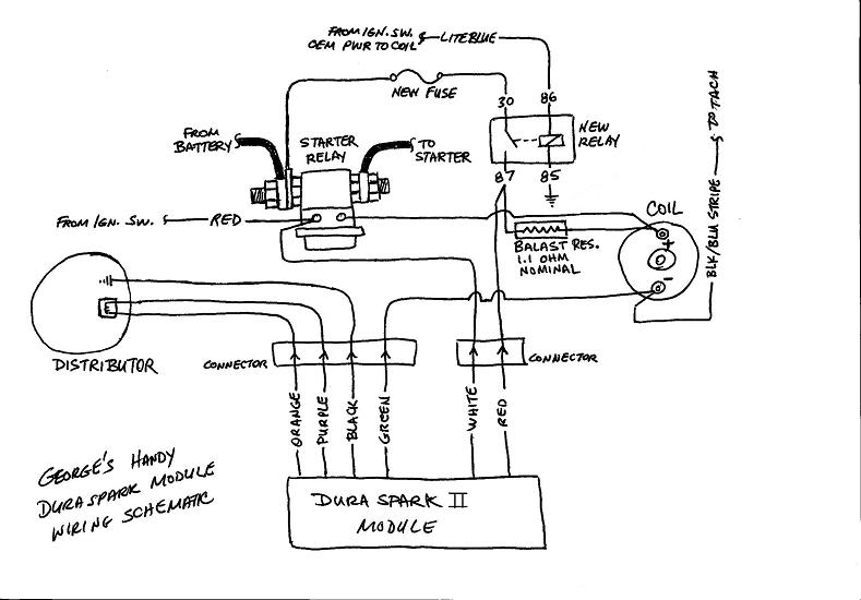 installing ford duraspark module