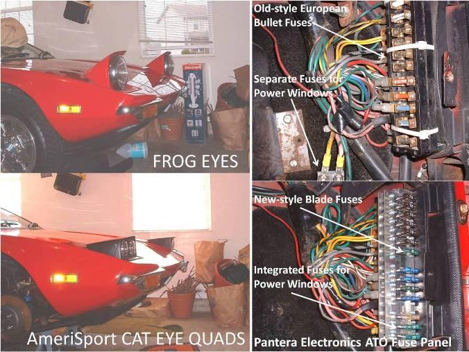 Headlight & Fuse Panel Upgrades