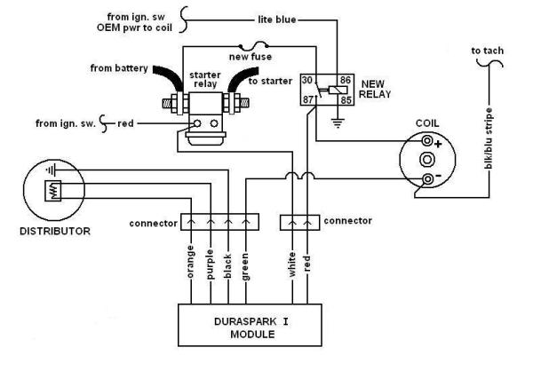 ford duraspark ignition wiring diagram ballast resistor the de tomaso forums  ballast resistor the de tomaso forums