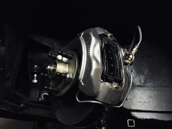 '67 Thunderbird caliper