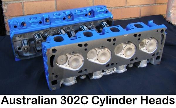 Australian 302C heads
