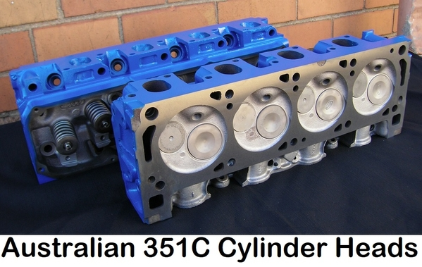 Australian 351C heads