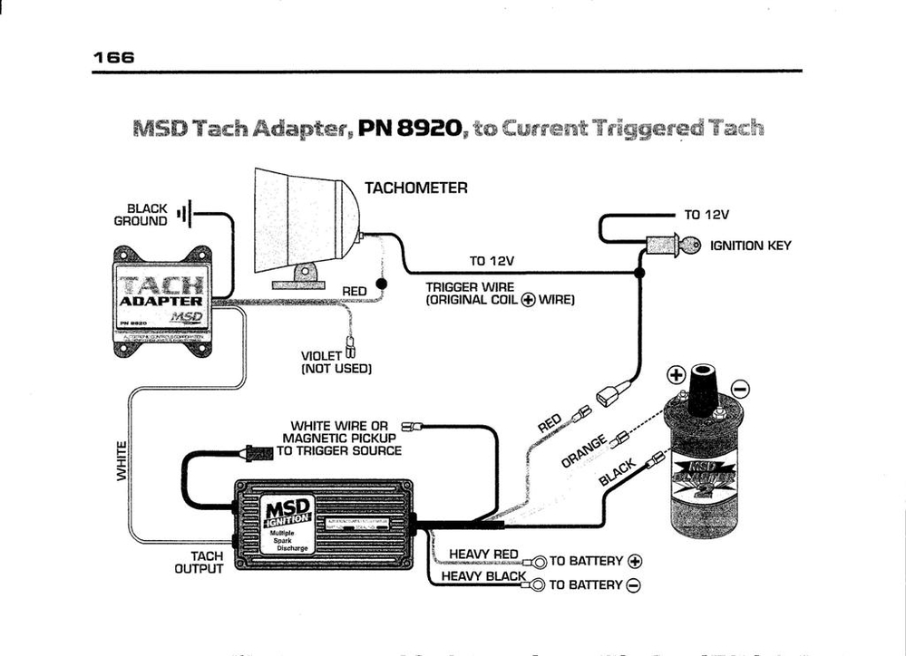 Oooh Nooo     Not Another Msd Tach Adapter Post