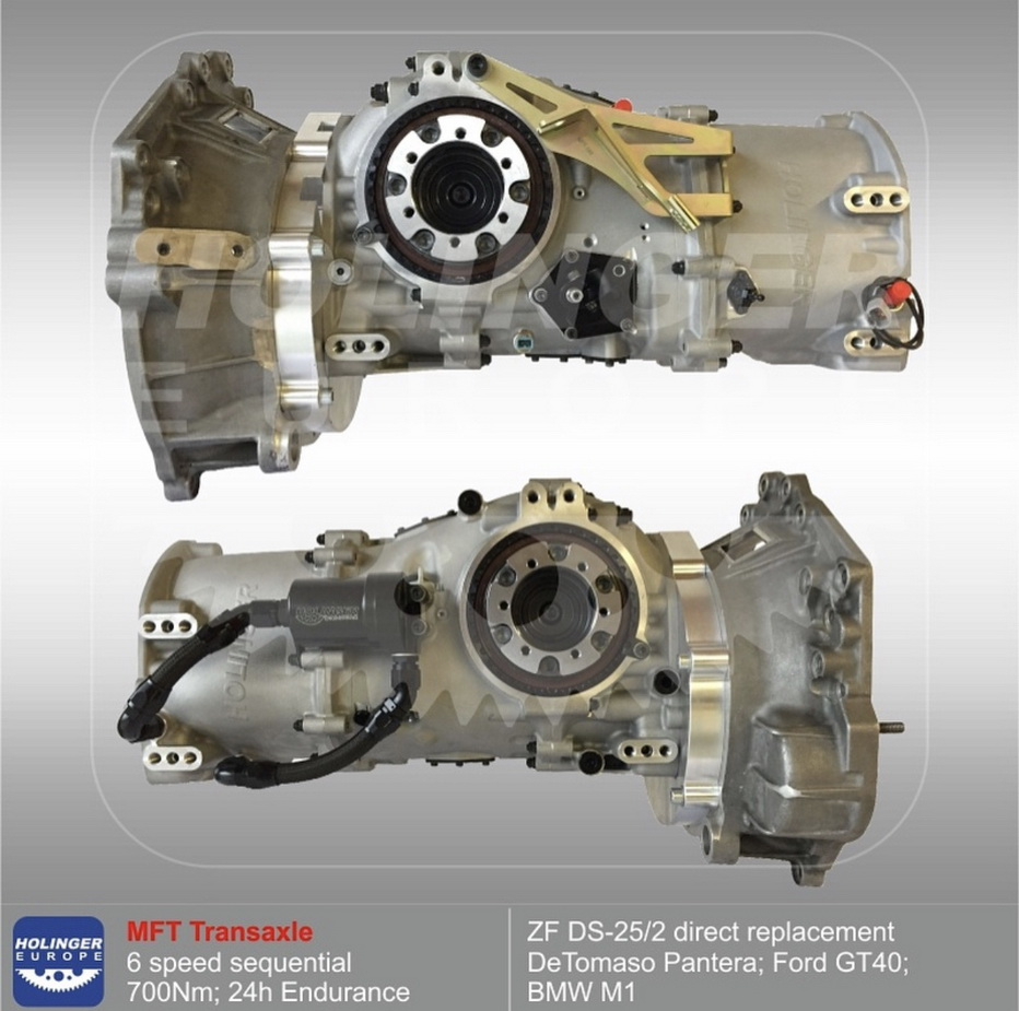 Direct Replacement for ZF DS-25/2 by Holinger   The De