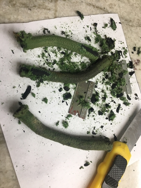 a Mangusta hose removal