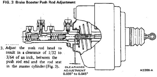 booster master adjustment
