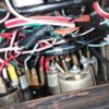 Behind Heated Rear Window Switch