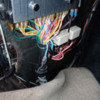 Light Blue Wire from Loom To Gullwing Heated Window