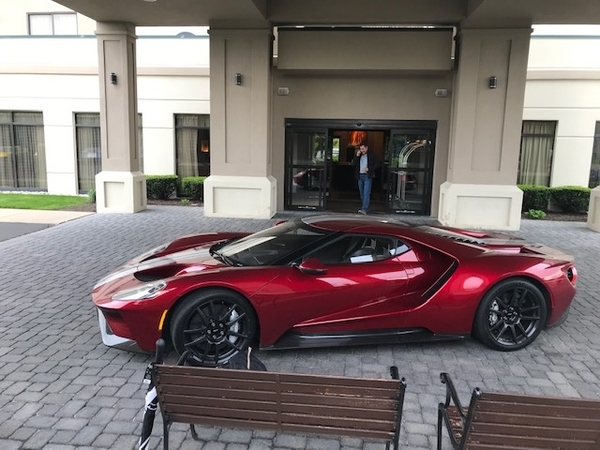 Ford GT Lobby