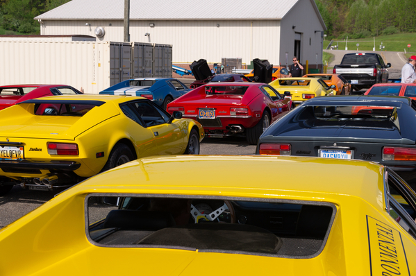 21 Pantera's, 1 Mongusta and 1 GT ready to rock