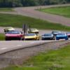 Cruising the track