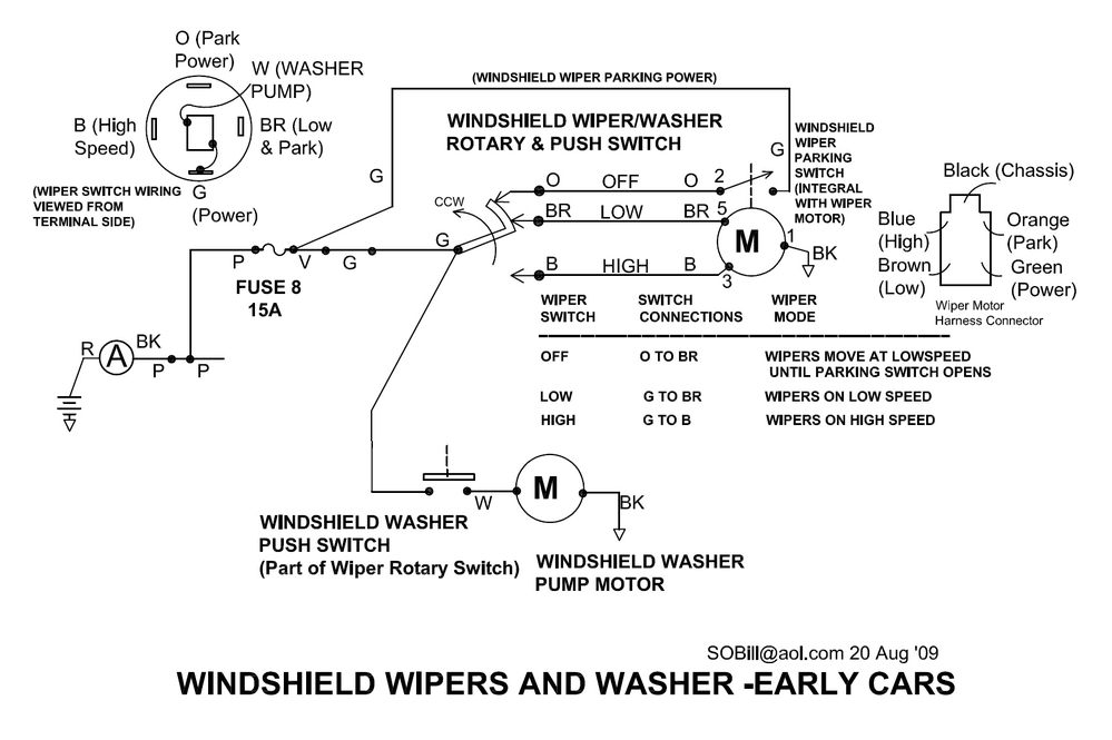 [DIAGRAM_3ER]  I need a windshield wiper wiring diagram for a Pantera | The De Tomaso  Forums | Detomaso Pantera Wiring Diagram |  | The De Tomaso Forums