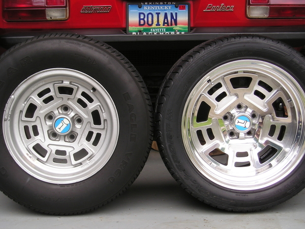Rear Wheels and Tires